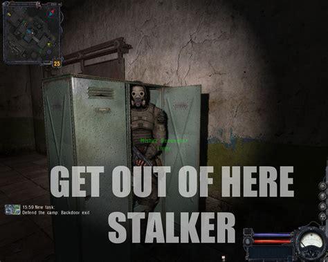Funny Stalker Memes - image 95141 get out of here stalker know your meme