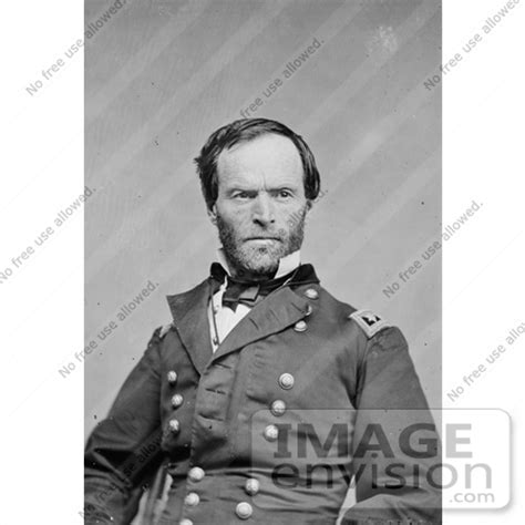 historical stock photography of william t sherman in