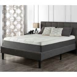 Costco Platform Bed Blackstone Upholstered Square Stitched Platform Bed