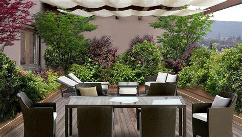 giardino in terrazza un giardino in terrazza idee giardinieri