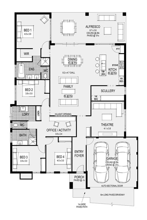 House Floor Plans Perth | farmhouse plans perth home deco plans