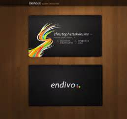 cards for businesses endivo business cards by alivepixel on deviantart