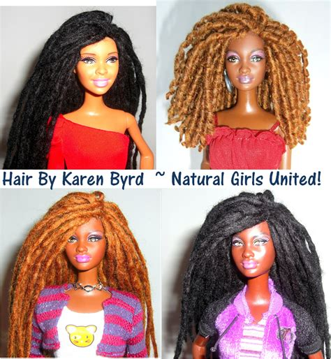 black doll with dreads naturally beautiful hair curly dreadlocks doll