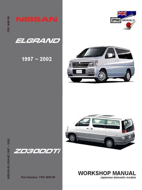 nissan elgrand engine diagram