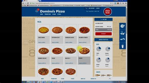 goseekit image domino s pizza philippines domino s ph order online at www dominospizza ph youtube