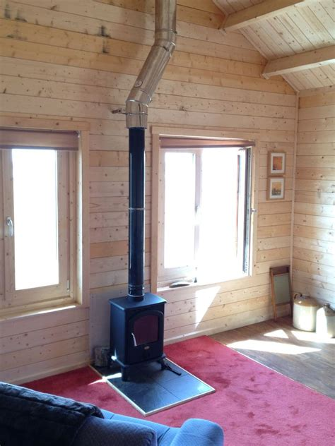 Open Kitchen Living Room Floor Plans by Can I Install A Wood Burning Stove In My Log Cabin