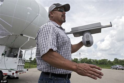 Blimp in a box to help in search for eric frein daily mail online