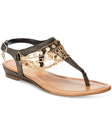 Thalia Wedges 9cm 1 thalia sodi lara chain embellished t flat sandals