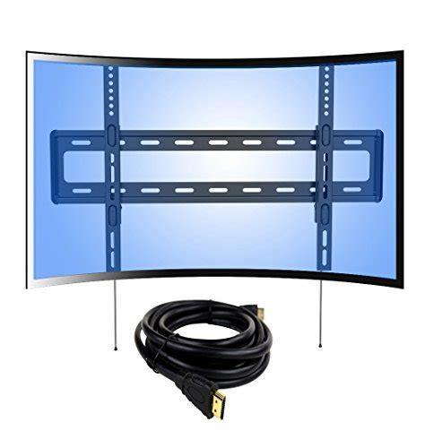Sarung Untuk Tv Led Loctek Curved Panel Uhd Hd Fixed Tv Wall Mount Bracket For