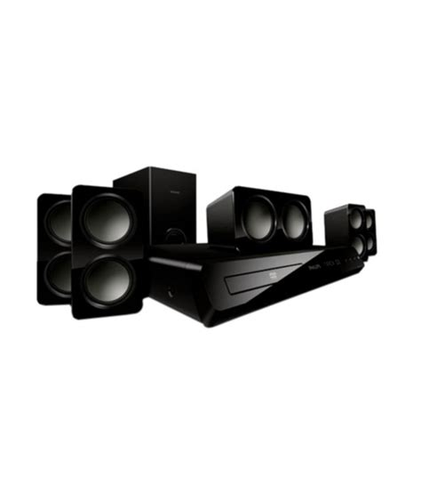 philips hts3532bl 94 5 1 dvd home theatre system from