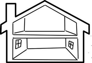 Black And White Home Best House Clipart Black And White 27217 Clipartion Com