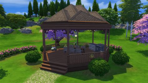 gazebo tutorial tutorial how to build a gazebo in the sims 4 simsvip