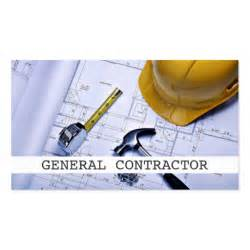 general contractor business cards general contractor builder construction business