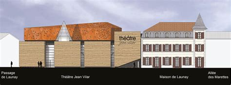 Architecte Bourgoin Jallieu by Chabal Architectes Etudes Theatre Bourgoin Jallieu
