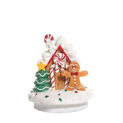 Candle Toppers Yankee Candle Gingerbread Jar Topper Scented Candle