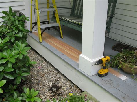 porch repair  concord carpenter