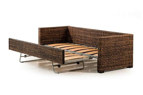 Rattan Sofa Bed Rattan Sleeper Sofa Siesta Key Thesofa Rattan Sofa Beds