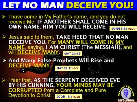 defining deception freeing the church from the mystical miracle movement books the messianic kabbalah revolution the tragic results of