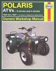haynes service repair manual m2302 polaris trail boss 1985 1997 polaris 400 all models haynes atv repair manual