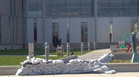 East Peoria Post Office by Peoria And East Peoria Protect Riverfronts Ahead Of