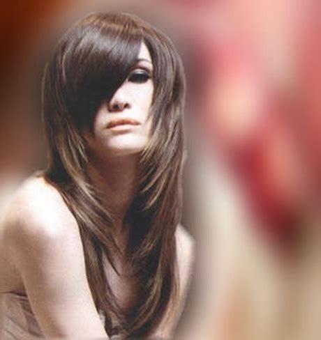 peluqueria cortes desmechado en largo corte de pelo para cabello largo en capas