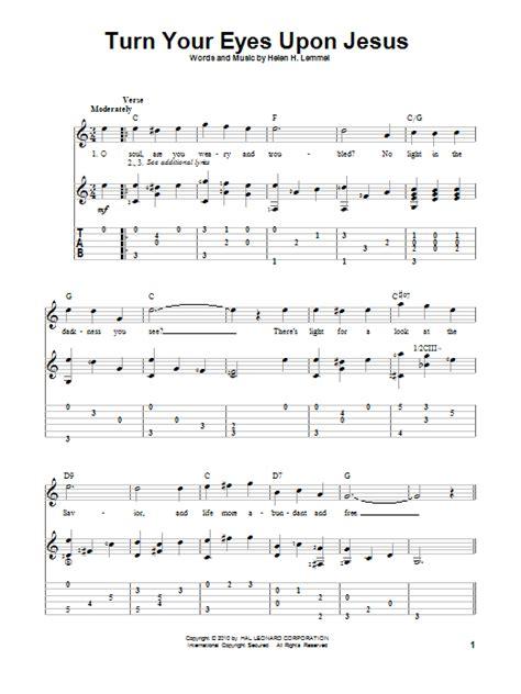 Turn Your Eyes Upon Jesus Guitar Chords