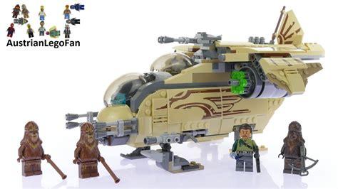 Sale Lego 75084 Wars Wookiee Gunship lego wars 75084 wookiee gunship lego speed build review