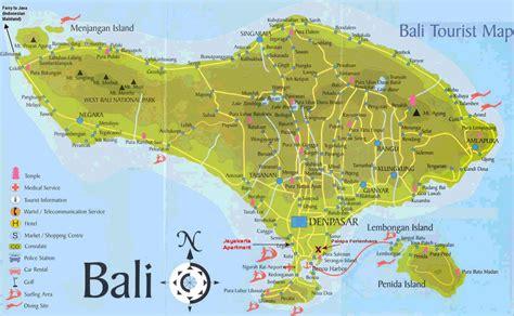 printable road map of bali bali tourist map mapsof net