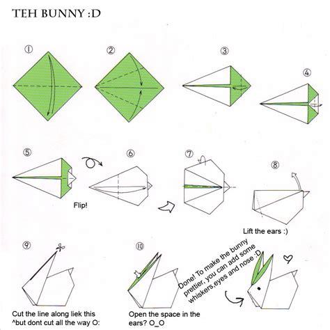 Origami En - menta lim 243 n conejitos de origami