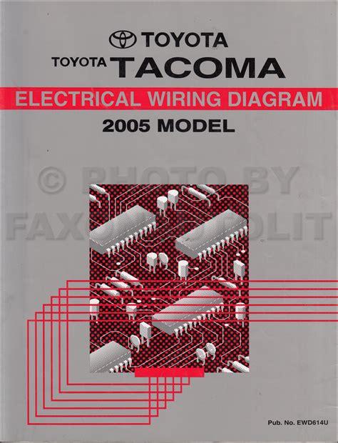 tacoma wiring diagram wiring diagrams schematics