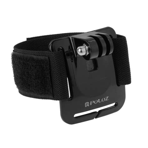 Velcro Wrist Band Wrist With Mount For puluz adjustable velcro wrist mount for gopro hero4 3 3 2 1 length 28 5cm