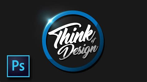 tutorial desain grafis keren desain logo simpel tapi keren tutorial photoshop bahasa