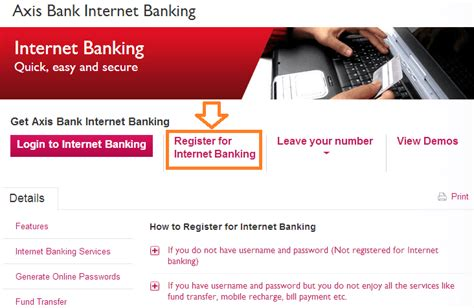 axis bank net banking login page how to activate axis bank banking how to