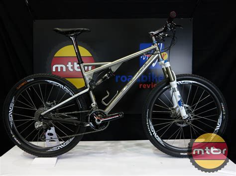 Handmade Titanium Bikes - ti cycles custom titanium vpp mountain bike mtbr