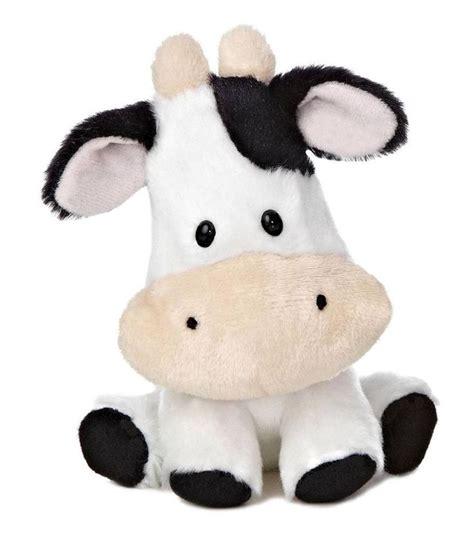 stuffed cow 6 plush cow wobbly bobblees barnyard farm stuffed