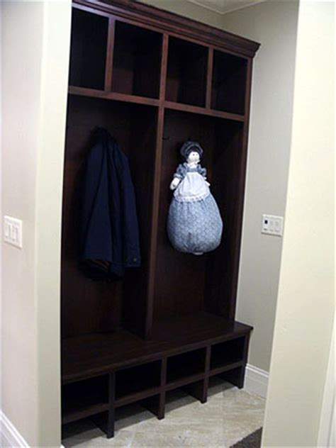 Coat Closet Furniture Shelves Amish Custom Furniture