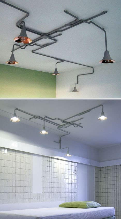Modular Ceiling Lights Lighting Metal Ceiling Lights Wrap Like Living Vines