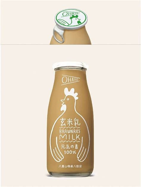 design rice milk 140 best images about brilliant timeless packaging on