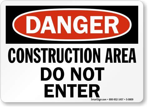 construction area do not enter sign ships fast sku s