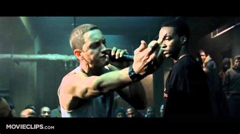 eminem movie phenomenon 8 mile movie clip rabbit battles papa doc 2002 hd