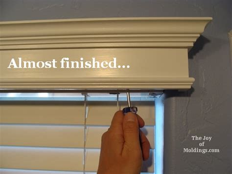 how to make a window box valance 4 install window valance cornice box how to diy the