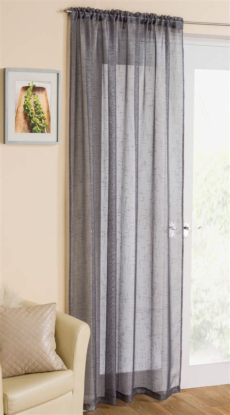 net curtains for living room striped voile curtains grey window curtains drapes