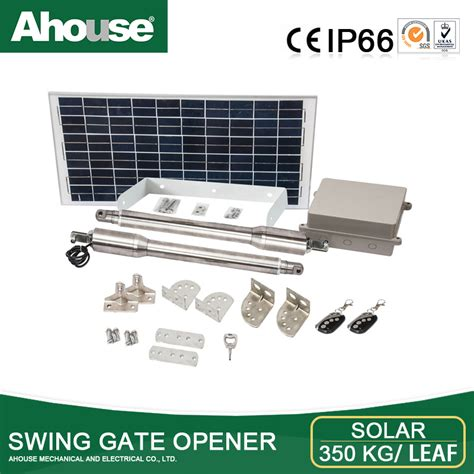 how to install swing gate opener ahouse solar swing gate opener automatic swing gate