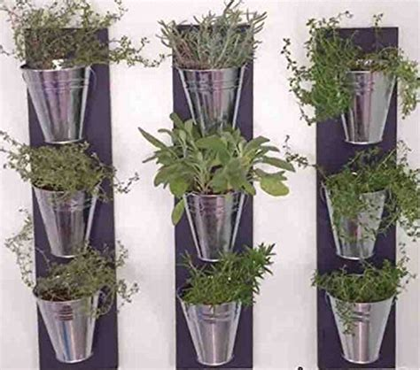 indoor wall planters vertical indoor wall planter with galvanized steel pots