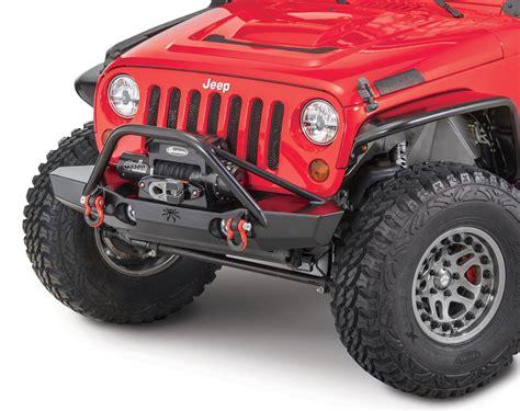 spyder jeep poison spyder 63010dbtp1 brawler mid front bumper with