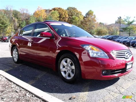 red nissan altima 2009 red brick metallic nissan altima 2 5 sl 20671269