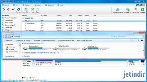 reset software center easeus partition mastter home edition