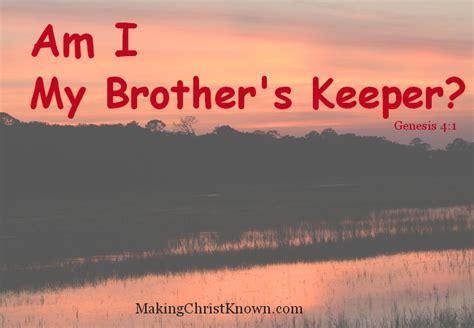 am my brothers keeper black am i my s keeper meme
