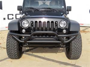 2013 Jeep Wrangler Front Bumper Removal Custom Front Bumper And Light Bar Of 2014 Jeep Wrangler