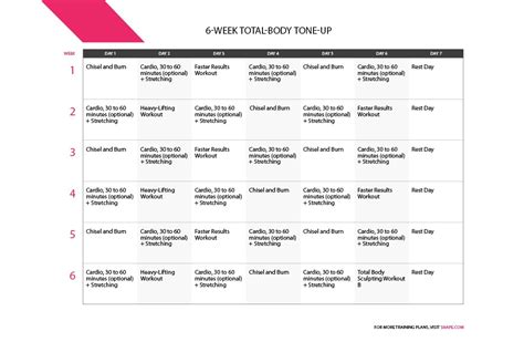 celebrity meaning with exle workout plan monthly total body transformation the